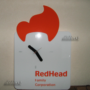 "Часы для компании ""RedHead Family Corporation"""